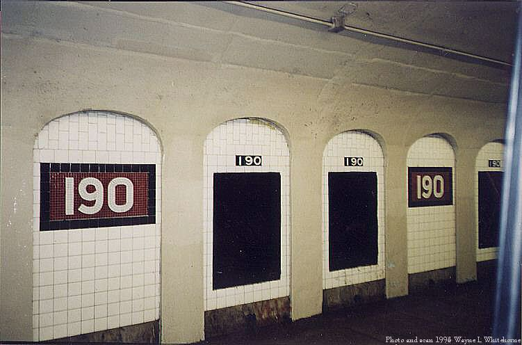 (60k, 751x496)<br><b>Country:</b> United States<br><b>City:</b> New York<br><b>System:</b> New York City Transit<br><b>Line:</b> IND 8th Avenue Line<br><b>Location:</b> 190th Street/Overlook Terrace <br><b>Route:</b> A<br><b>Photo by:</b> Wayne Whitehorne<br><b>Date:</b> 1998<br><b>Viewed (this week/total):</b> 0 / 2935