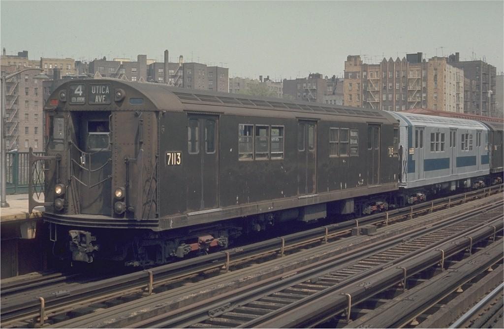 (172k, 1024x668)<br><b>Country:</b> United States<br><b>City:</b> New York<br><b>System:</b> New York City Transit<br><b>Line:</b> IRT Woodlawn Line<br><b>Location:</b> Mt. Eden Avenue <br><b>Route:</b> 4<br><b>Car:</b> R-21 (St. Louis, 1956-57) 7113 <br><b>Photo by:</b> Joe Testagrose<br><b>Date:</b> 5/9/1970<br><b>Viewed (this week/total):</b> 0 / 2588