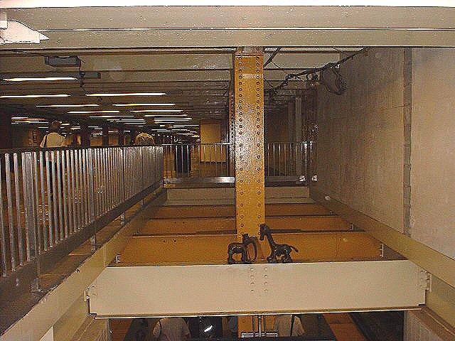 (88k, 640x480)<br><b>Country:</b> United States<br><b>City:</b> New York<br><b>System:</b> New York City Transit<br><b>Line:</b> IND 8th Avenue Line<br><b>Location:</b> 14th Street <br><b>Photo by:</b> Peggy Darlington<br><b>Date:</b> 2000<br><b>Artwork:</b> <i>Life Underground</i>, Tom Otterness (2000).<br><b>Viewed (this week/total):</b> 1 / 3783