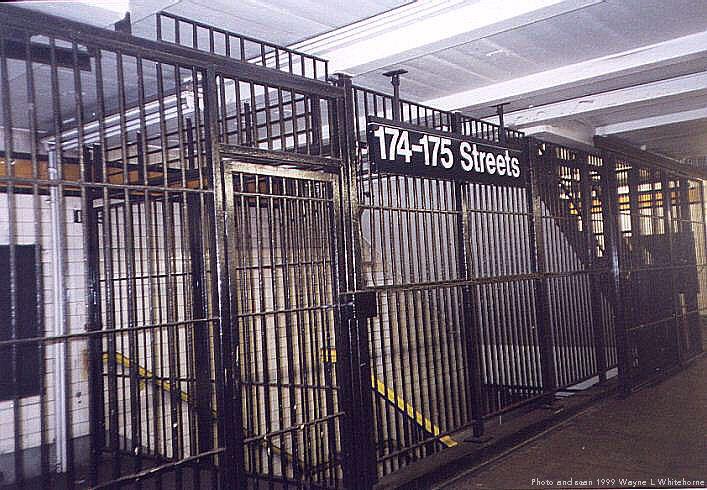 (95k, 707x490)<br><b>Country:</b> United States<br><b>City:</b> New York<br><b>System:</b> New York City Transit<br><b>Line:</b> IND Concourse Line<br><b>Location:</b> 174th/175th Street <br><b>Photo by:</b> Wayne Whitehorne<br><b>Date:</b> 9/24/1999<br><b>Viewed (this week/total):</b> 4 / 3522