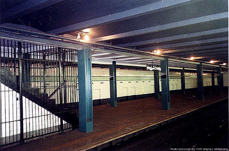 (111k, 744x490)<br><b>Country:</b> United States<br><b>City:</b> New York<br><b>System:</b> New York City Transit<br><b>Line:</b> IND Fulton Street Line<br><b>Location:</b> Hoyt-Schermerhorn Street <br><b>Photo by:</b> Wayne Whitehorne<br><b>Date:</b> 5/28/1998<br><b>Notes:</b> Closed platform<br><b>Viewed (this week/total):</b> 2 / 5212
