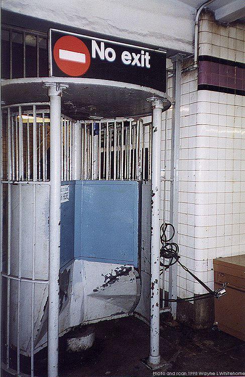 (121k, 488x749)<br><b>Country:</b> United States<br><b>City:</b> New York<br><b>System:</b> New York City Transit<br><b>Line:</b> IND Queens Boulevard Line<br><b>Location:</b> Northern Boulevard <br><b>Photo by:</b> Wayne Whitehorne<br><b>Date:</b> 9/30/1998<br><b>Notes:</b> Iron maiden exit<br><b>Viewed (this week/total):</b> 0 / 3864