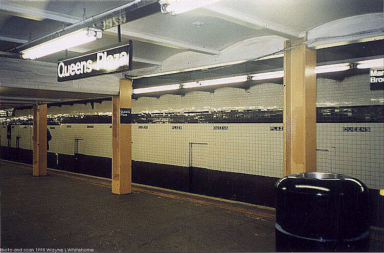 (77k, 751x494)<br><b>Country:</b> United States<br><b>City:</b> New York<br><b>System:</b> New York City Transit<br><b>Line:</b> IND Queens Boulevard Line<br><b>Location:</b> Queens Plaza <br><b>Photo by:</b> Wayne Whitehorne<br><b>Date:</b> 1/3/1998<br><b>Viewed (this week/total):</b> 1 / 3293