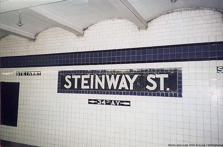 (72k, 748x493)<br><b>Country:</b> United States<br><b>City:</b> New York<br><b>System:</b> New York City Transit<br><b>Line:</b> IND Queens Boulevard Line<br><b>Location:</b> Steinway Street <br><b>Photo by:</b> Wayne Whitehorne<br><b>Date:</b> 1/3/1998<br><b>Viewed (this week/total):</b> 5 / 3341