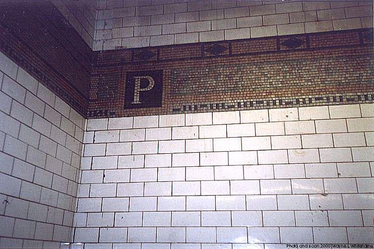 (80k, 742x494)<br><b>Country:</b> United States<br><b>City:</b> New York<br><b>System:</b> New York City Transit<br><b>Line:</b> BMT 4th Avenue<br><b>Location:</b> Prospect Avenue <br><b>Photo by:</b> Wayne Whitehorne<br><b>Date:</b> 1/15/2000<br><b>Notes:</b> Original tile<br><b>Viewed (this week/total):</b> 0 / 3495