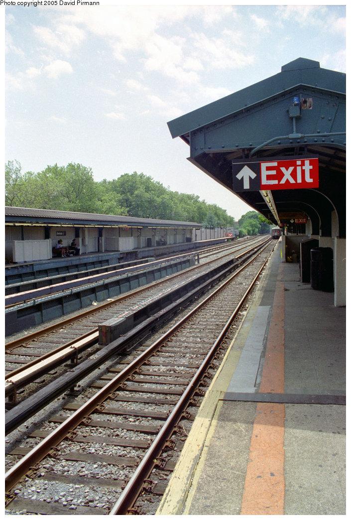 (239k, 705x1044)<br><b>Country:</b> United States<br><b>City:</b> New York<br><b>System:</b> New York City Transit<br><b>Line:</b> BMT Brighton Line<br><b>Location:</b> Avenue J <br><b>Photo by:</b> David Pirmann<br><b>Date:</b> 7/18/1998<br><b>Viewed (this week/total):</b> 1 / 2056