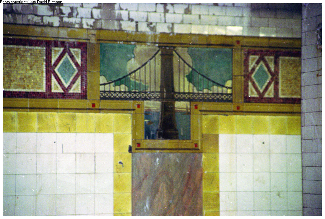 (250k, 1044x705)<br><b>Country:</b> United States<br><b>City:</b> New York<br><b>System:</b> New York City Transit<br><b>Line:</b> BMT Nassau Street/Jamaica Line<br><b>Location:</b> Chambers Street <br><b>Photo by:</b> David Pirmann<br><b>Date:</b> 10/11/1996<br><b>Viewed (this week/total):</b> 0 / 3612