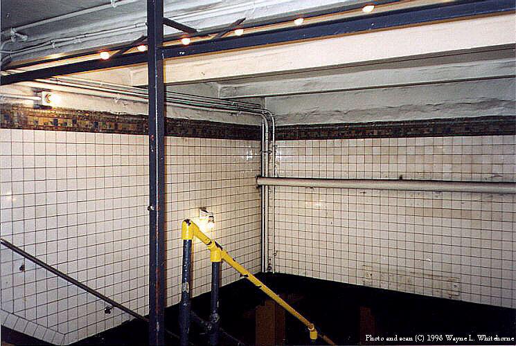 (110k, 745x500)<br><b>Country:</b> United States<br><b>City:</b> New York<br><b>System:</b> New York City Transit<br><b>Line:</b> BMT Canarsie Line<br><b>Location:</b> 6th Avenue <br><b>Route:</b> L<br><b>Photo by:</b> Wayne Whitehorne<br><b>Date:</b> 6/28/1998<br><b>Viewed (this week/total):</b> 0 / 3035