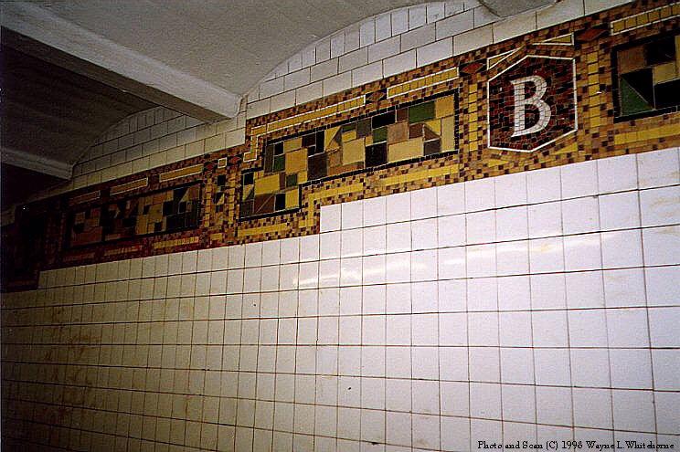 (96k, 744x495)<br><b>Country:</b> United States<br><b>City:</b> New York<br><b>System:</b> New York City Transit<br><b>Line:</b> BMT Canarsie Line<br><b>Location:</b> Bushwick-Aberdeen <br><b>Route:</b> L<br><b>Photo by:</b> Wayne Whitehorne<br><b>Date:</b> 8/21/1998<br><b>Viewed (this week/total):</b> 6 / 2818