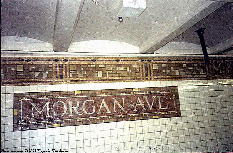 (85k, 745x490)<br><b>Country:</b> United States<br><b>City:</b> New York<br><b>System:</b> New York City Transit<br><b>Line:</b> BMT Canarsie Line<br><b>Location:</b> Morgan Avenue <br><b>Route:</b> L<br><b>Photo by:</b> Wayne Whitehorne<br><b>Date:</b> 9/28/1997<br><b>Viewed (this week/total):</b> 0 / 2799