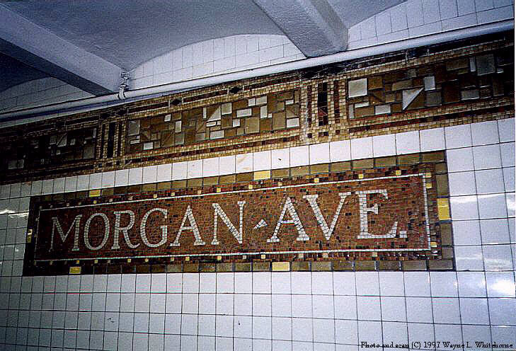 (102k, 729x496)<br><b>Country:</b> United States<br><b>City:</b> New York<br><b>System:</b> New York City Transit<br><b>Line:</b> BMT Canarsie Line<br><b>Location:</b> Morgan Avenue <br><b>Route:</b> L<br><b>Photo by:</b> Wayne Whitehorne<br><b>Date:</b> 9/28/1997<br><b>Viewed (this week/total):</b> 2 / 2804