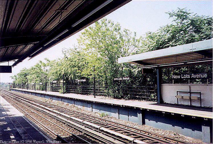 (127k, 746x503)<br><b>Country:</b> United States<br><b>City:</b> New York<br><b>System:</b> New York City Transit<br><b>Line:</b> BMT Canarsie Line<br><b>Location:</b> New Lots Avenue <br><b>Route:</b> L<br><b>Photo by:</b> Wayne Whitehorne<br><b>Date:</b> 1998<br><b>Viewed (this week/total):</b> 0 / 4688