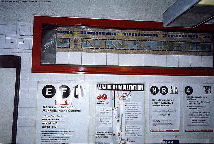 (107k, 741x500)<br><b>Country:</b> United States<br><b>City:</b> New York<br><b>System:</b> New York City Transit<br><b>Line:</b> BMT Canarsie Line<br><b>Location:</b> Union Square <br><b>Route:</b> L<br><b>Photo by:</b> Wayne Whitehorne<br><b>Date:</b> 6/20/1998<br><b>Viewed (this week/total):</b> 4 / 4629