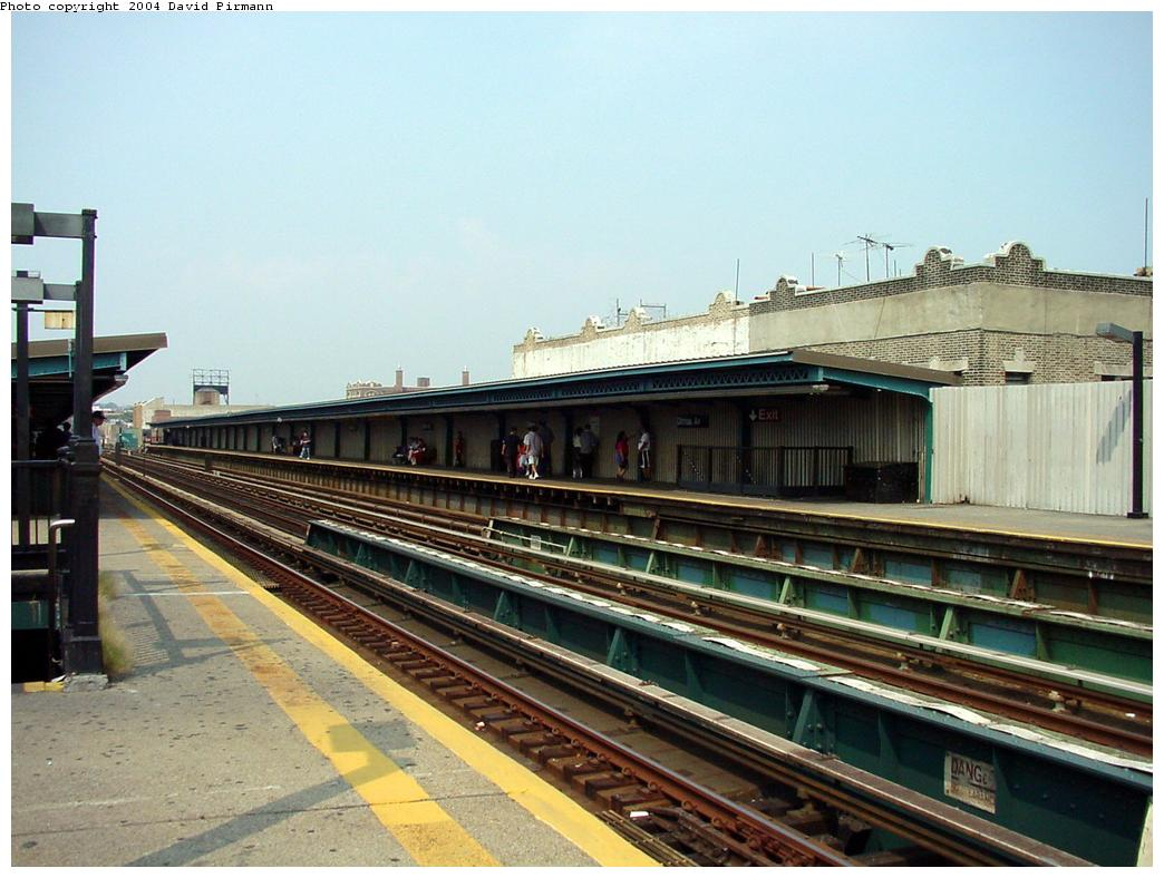 (128k, 1044x788)<br><b>Country:</b> United States<br><b>City:</b> New York<br><b>System:</b> New York City Transit<br><b>Line:</b> BMT Culver Line<br><b>Location:</b> Ditmas Avenue<br><b>Route:</b> F<br><b>Photo by:</b> David Pirmann<br><b>Date:</b> 8/27/2000<br><b>Notes:</b> View of station from southbound platform<br><b>Viewed (this week/total):</b> 0 / 2698