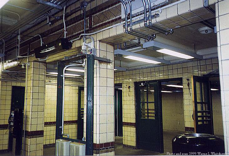 (87k, 731x497)<br><b>Country:</b> United States<br><b>City:</b> New York<br><b>System:</b> New York City Transit<br><b>Line:</b> BMT Sea Beach Line<br><b>Location:</b> Bay Parkway (22nd Avenue) <br><b>Photo by:</b> Wayne Whitehorne<br><b>Date:</b> 6/4/1999<br><b>Notes:</b> Interior of station house-Bay Parkway (Sea Beach)<br><b>Viewed (this week/total):</b> 1 / 3514
