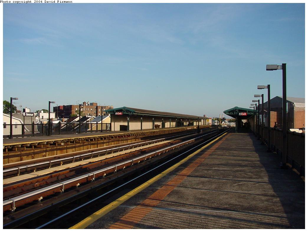 (108k, 1044x788)<br><b>Country:</b> United States<br><b>City:</b> New York<br><b>System:</b> New York City Transit<br><b>Line:</b> BMT West End Line<br><b>Location:</b> 18th Avenue <br><b>Photo by:</b> David Pirmann<br><b>Date:</b> 5/31/2000<br><b>Viewed (this week/total):</b> 0 / 2787