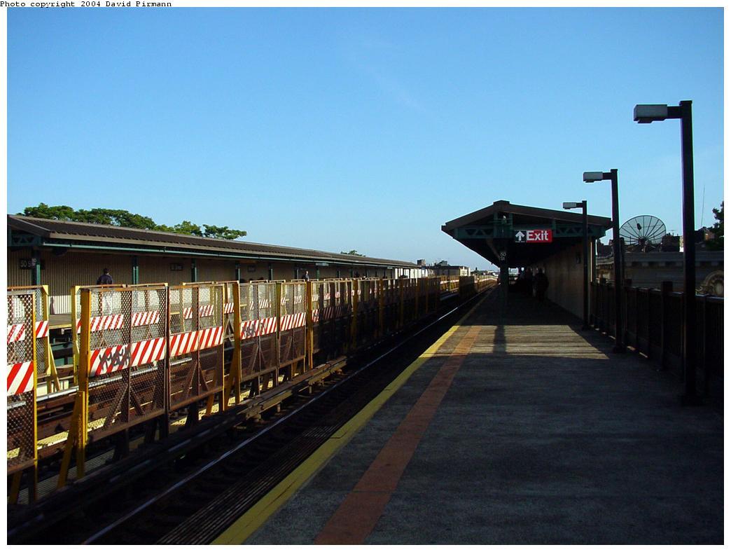 (107k, 1044x788)<br><b>Country:</b> United States<br><b>City:</b> New York<br><b>System:</b> New York City Transit<br><b>Line:</b> BMT West End Line<br><b>Location:</b> 50th Street <br><b>Photo by:</b> David Pirmann<br><b>Date:</b> 5/31/2000<br><b>Viewed (this week/total):</b> 0 / 2094