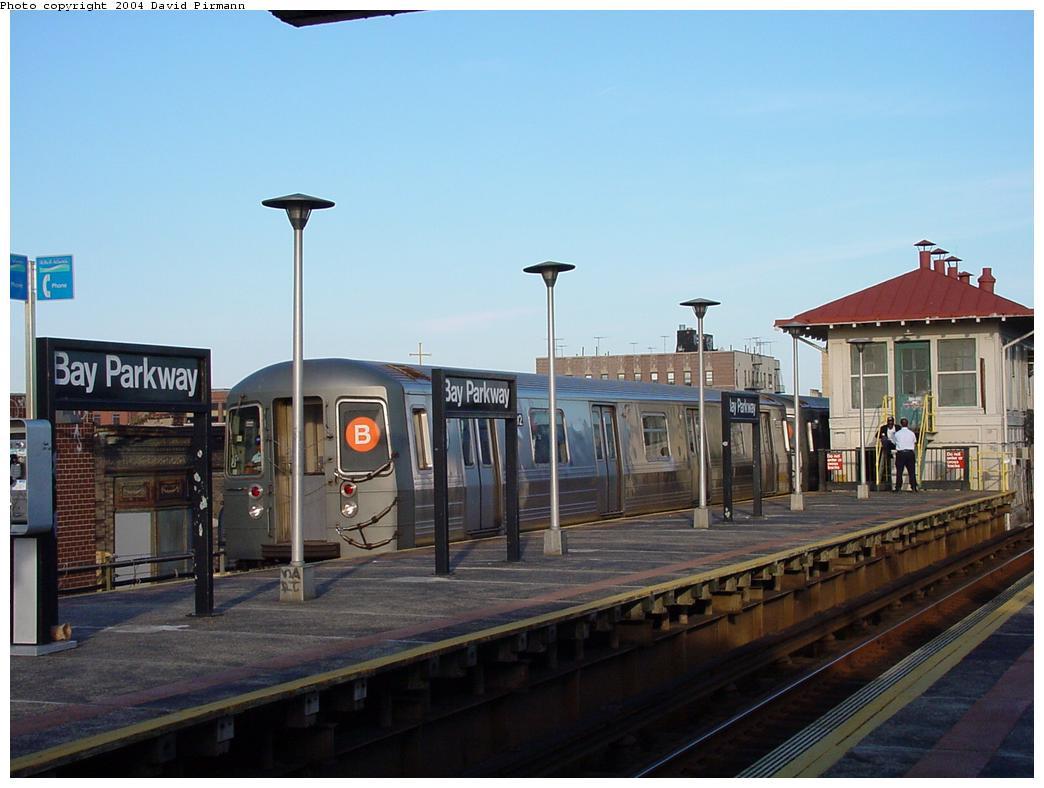 (100k, 1044x788)<br><b>Country:</b> United States<br><b>City:</b> New York<br><b>System:</b> New York City Transit<br><b>Line:</b> BMT West End Line<br><b>Location:</b> Bay Parkway <br><b>Photo by:</b> David Pirmann<br><b>Date:</b> 5/31/2000<br><b>Viewed (this week/total):</b> 3 / 4559