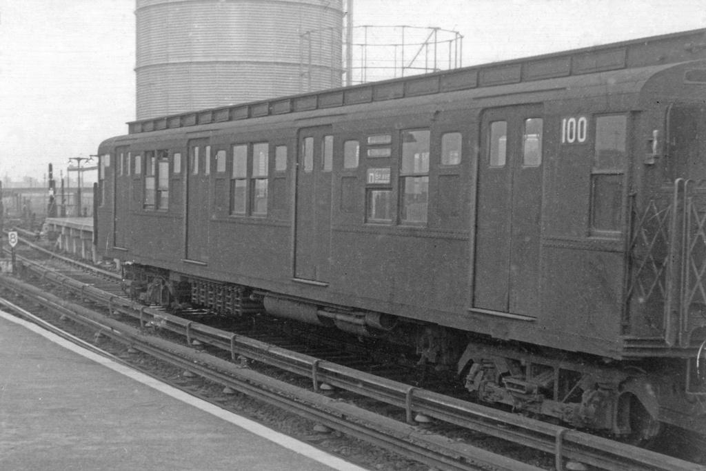 (238k, 1024x683)<br><b>Country:</b> United States<br><b>City:</b> New York<br><b>System:</b> New York City Transit<br><b>Location:</b> Coney Island/Stillwell Avenue<br><b>Car:</b> R-1 (American Car & Foundry, 1930-1931) 100 <br><b>Collection of:</b> David Pirmann<br><b>Viewed (this week/total):</b> 3 / 3518
