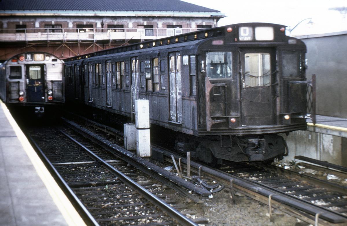 (402k, 1044x711)<br><b>Country:</b> United States<br><b>City:</b> New York<br><b>System:</b> New York City Transit<br><b>Location:</b> Coney Island/Stillwell Avenue<br><b>Car:</b> R-1 (American Car & Foundry, 1930-1931) 100 <br><b>Collection of:</b> David Pirmann<br><b>Viewed (this week/total):</b> 0 / 5089