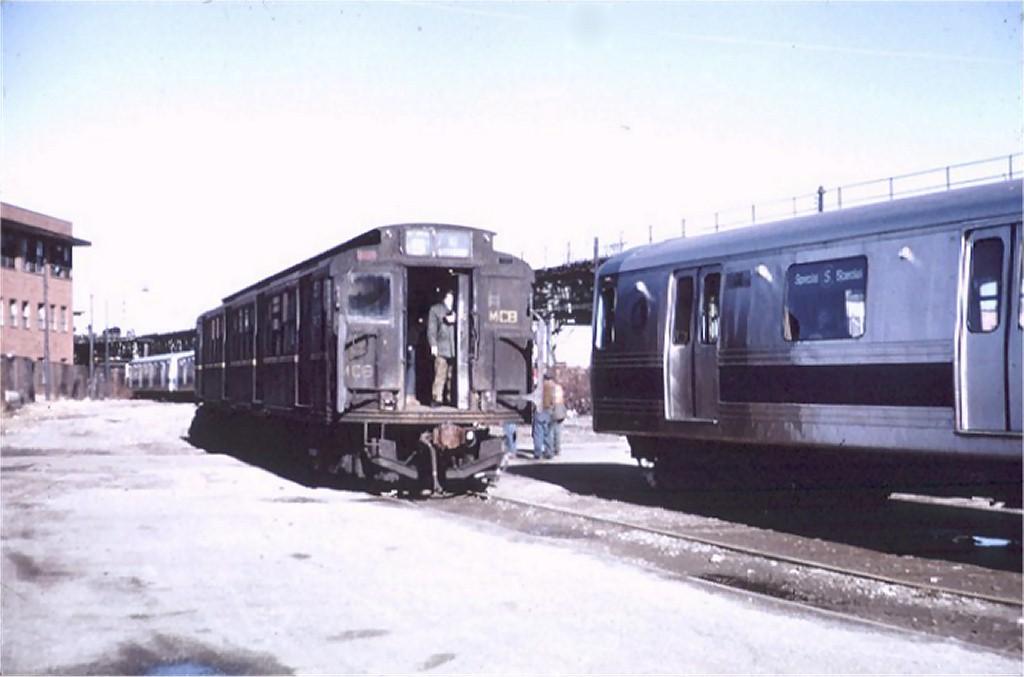(117k, 1024x677)<br><b>Country:</b> United States<br><b>City:</b> New York<br><b>System:</b> New York City Transit<br><b>Location:</b> Coney Island Yard<br><b>Car:</b> R-1 (American Car & Foundry, 1930-1931) M502 (ex-399)<br><b>Photo by:</b> Steve Zabel<br><b>Collection of:</b> Joe Testagrose<br><b>Date:</b> 1/26/1972<br><b>Viewed (this week/total):</b> 0 / 3466