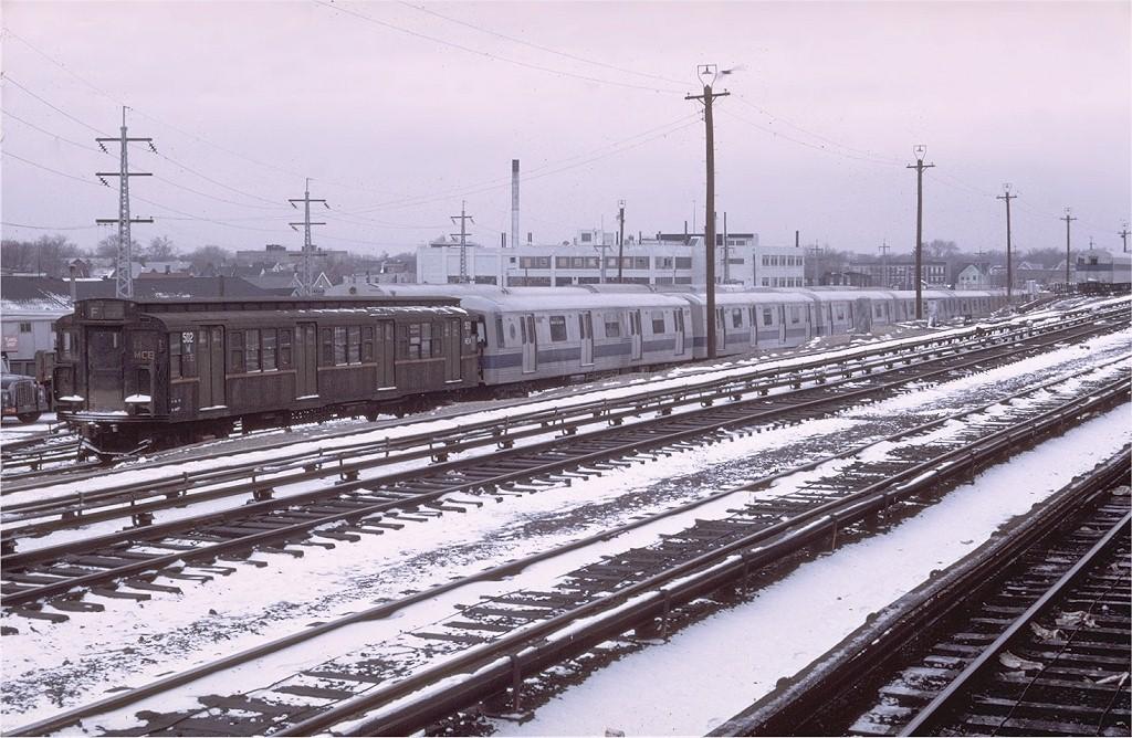 (225k, 1024x668)<br><b>Country:</b> United States<br><b>City:</b> New York<br><b>System:</b> New York City Transit<br><b>Line:</b> LIRR Main Line<br><b>Location:</b> LIRR Jamaica <br><b>Car:</b> R-1 (American Car & Foundry, 1930-1931) M502 (ex-399)<br><b>Photo by:</b> Steve Zabel<br><b>Collection of:</b> Joe Testagrose<br><b>Date:</b> 2/21/1972<br><b>Viewed (this week/total):</b> 0 / 4335