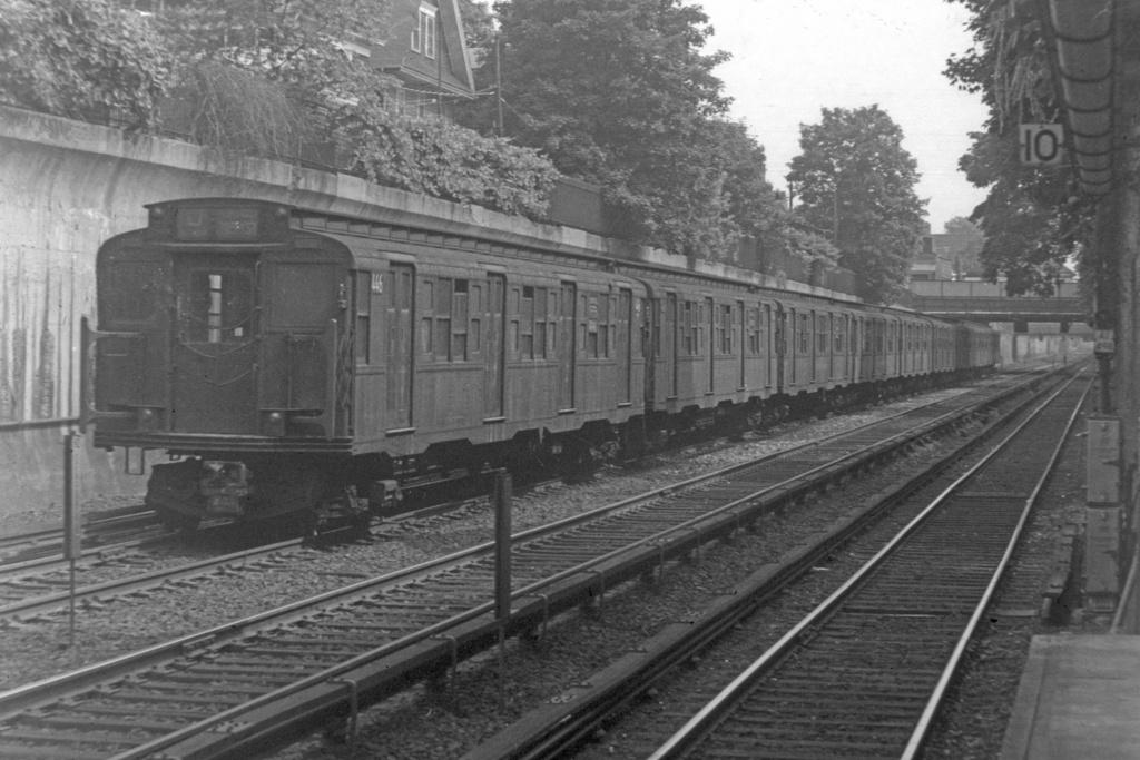 (204k, 1024x684)<br><b>Country:</b> United States<br><b>City:</b> New York<br><b>System:</b> New York City Transit<br><b>Line:</b> BMT Brighton Line<br><b>Location:</b> Cortelyou Road <br><b>Route:</b> D<br><b>Car:</b> R-4 (American Car & Foundry, 1932-1933) 446 <br><b>Collection of:</b> Joe Testagrose<br><b>Viewed (this week/total):</b> 1 / 3544