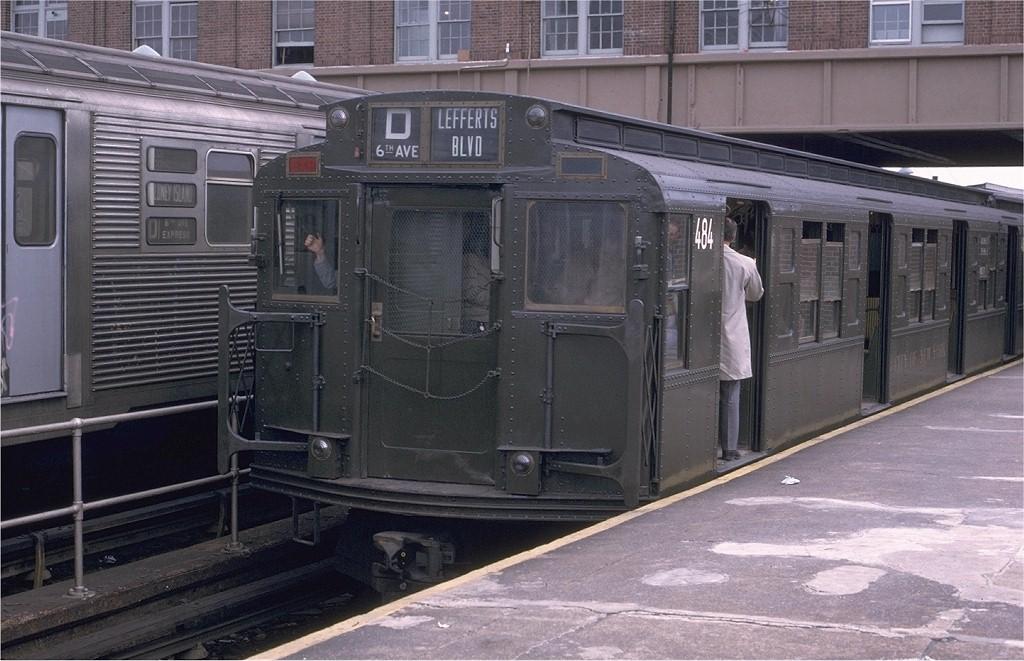 (195k, 1024x661)<br><b>Country:</b> United States<br><b>City:</b> New York<br><b>System:</b> New York City Transit<br><b>Location:</b> Coney Island/Stillwell Avenue<br><b>Route:</b> Fan Trip<br><b>Car:</b> R-4 (American Car & Foundry, 1932-1933) 484 <br><b>Photo by:</b> Joe Testagrose<br><b>Date:</b> 5/5/1974<br><b>Viewed (this week/total):</b> 4 / 3367