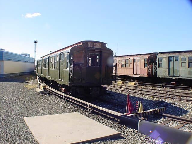 (60k, 640x480)<br><b>Country:</b> United States<br><b>City:</b> New York<br><b>System:</b> New York City Transit<br><b>Location:</b> Coney Island Yard-Museum Yard<br><b>Car:</b> R-4 (American Car & Foundry, 1932-1933) 491 (ex-401)<br><b>Photo by:</b> Salaam Allah<br><b>Date:</b> 10/29/2000<br><b>Viewed (this week/total):</b> 0 / 3155