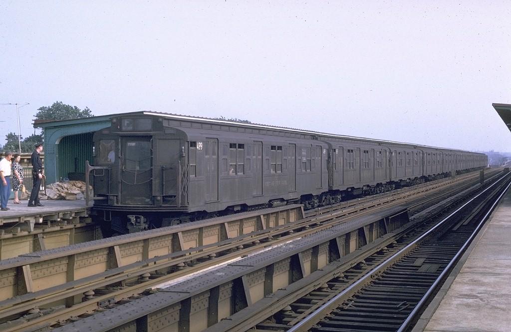 (182k, 1024x665)<br><b>Country:</b> United States<br><b>City:</b> New York<br><b>System:</b> New York City Transit<br><b>Line:</b> BMT Culver Line<br><b>Location:</b> Avenue I <br><b>Route:</b> F<br><b>Car:</b> R-4 (American Car & Foundry, 1932-1933) 499 <br><b>Photo by:</b> Joe Testagrose<br><b>Date:</b> 7/27/1969<br><b>Viewed (this week/total):</b> 2 / 4143