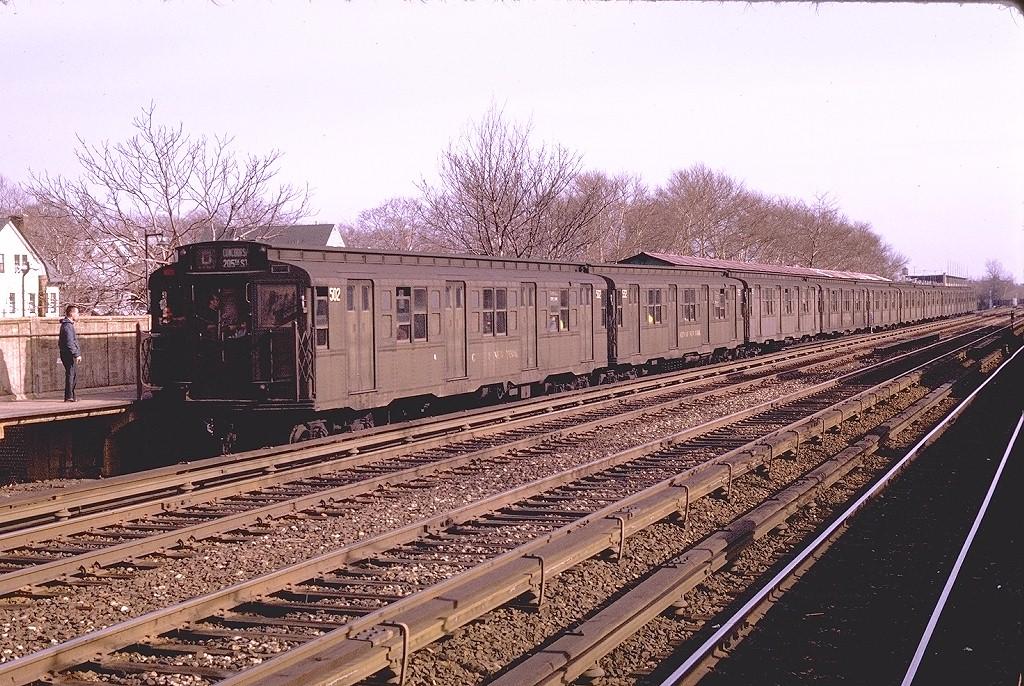 (279k, 1024x686)<br><b>Country:</b> United States<br><b>City:</b> New York<br><b>System:</b> New York City Transit<br><b>Line:</b> BMT Brighton Line<br><b>Location:</b> Avenue J <br><b>Route:</b> D<br><b>Car:</b> R-4 (American Car & Foundry, 1932-1933) 502 <br><b>Photo by:</b> Joe Testagrose<br><b>Date:</b> 4/19/1970<br><b>Viewed (this week/total):</b> 0 / 3259