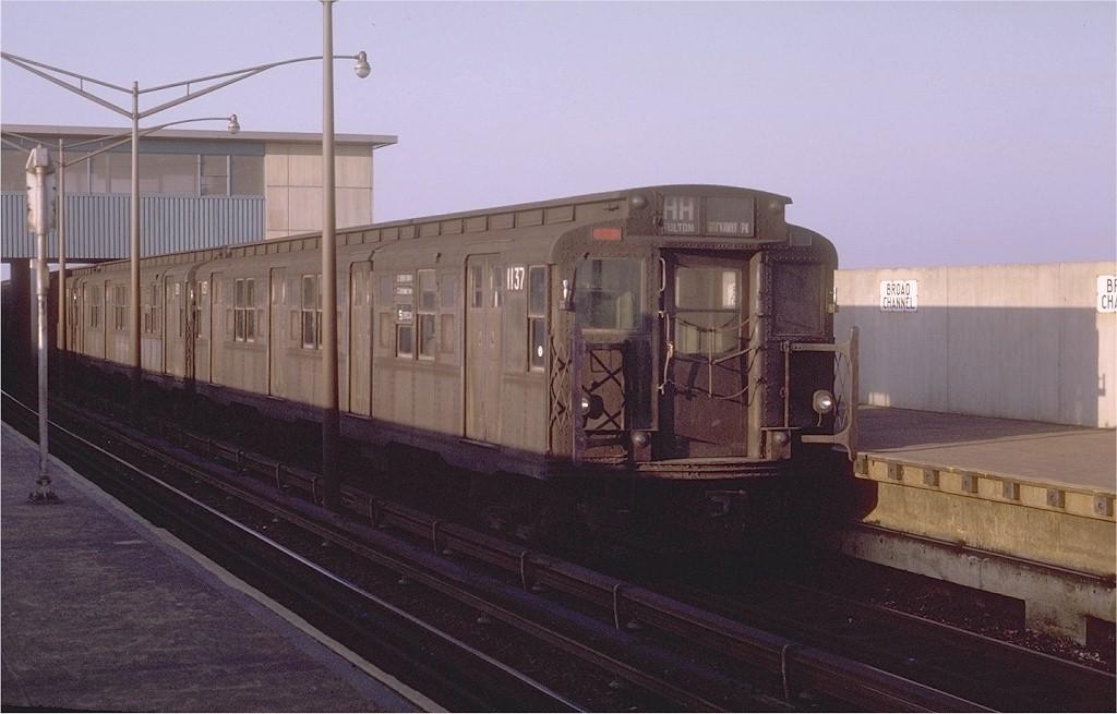 (157k, 1024x655)<br><b>Country:</b> United States<br><b>City:</b> New York<br><b>System:</b> New York City Transit<br><b>Line:</b> IND Rockaway<br><b>Location:</b> Broad Channel <br><b>Route:</b> HH<br><b>Car:</b> R-6-3 (American Car & Foundry, 1935)  1137 <br><b>Photo by:</b> Joe Testagrose<br><b>Date:</b> 1/31/1970<br><b>Viewed (this week/total):</b> 1 / 3571
