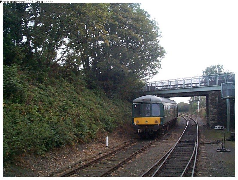 (150k, 820x620)<br><b>Country:</b> United Kingdom<br><b>System:</b> Bodmin & Wenford Railway <br><b>Photo by:</b> Chris Jones<br><b>Date:</b> 10/1/2002<br><b>Viewed (this week/total):</b> 0 / 2045