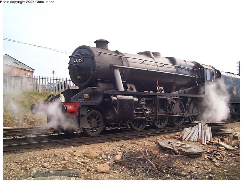 (128k, 820x620)<br><b>Country:</b> United Kingdom<br><b>System:</b> Great Central Railway <br><b>Photo by:</b> Chris Jones<br><b>Date:</b> 2/26/2000<br><b>Viewed (this week/total):</b> 4 / 2014
