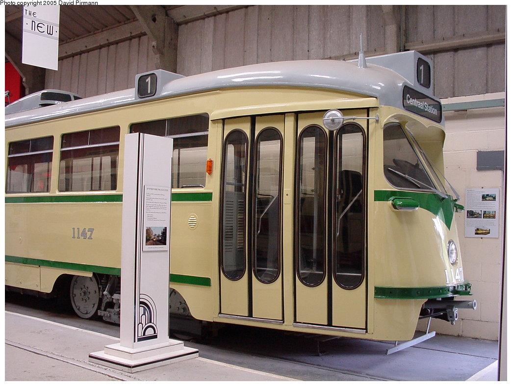 (180k, 1044x788)<br><b>Country:</b> United Kingdom<br><b>System:</b> National Tramway Museum <br><b>Car:</b> PCC  1147 <br><b>Photo by:</b> David Pirmann<br><b>Date:</b> 9/2/2000<br><b>Viewed (this week/total):</b> 2 / 2588