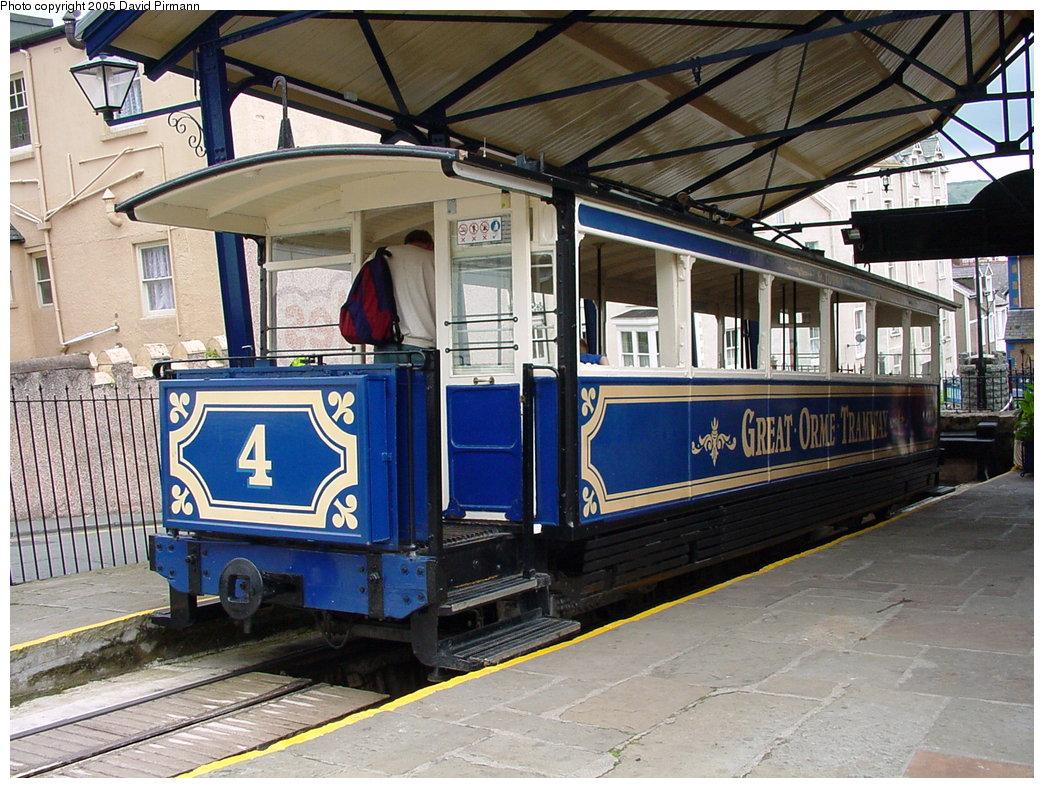 (231k, 1044x788)<br><b>Country:</b> United Kingdom<br><b>System:</b> Great Orme Tramway <br><b>Photo by:</b> David Pirmann<br><b>Date:</b> 9/7/2000<br><b>Viewed (this week/total):</b> 1 / 2098