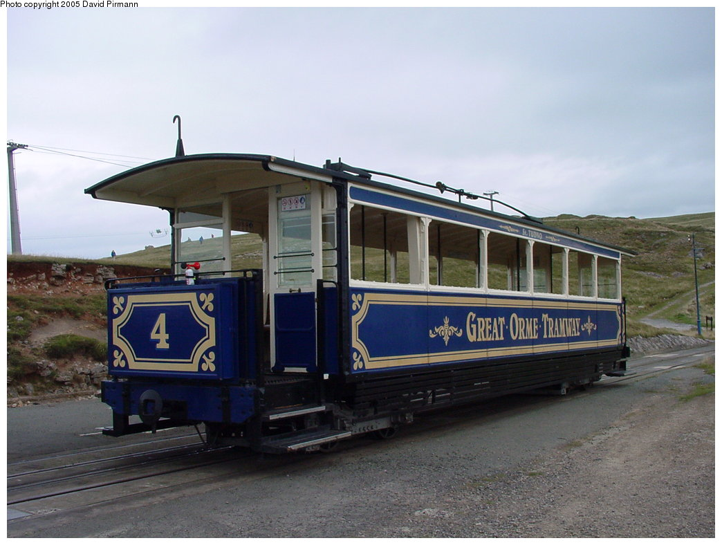(153k, 1044x788)<br><b>Country:</b> United Kingdom<br><b>System:</b> Great Orme Tramway <br><b>Photo by:</b> David Pirmann<br><b>Date:</b> 9/7/2000<br><b>Viewed (this week/total):</b> 3 / 1897