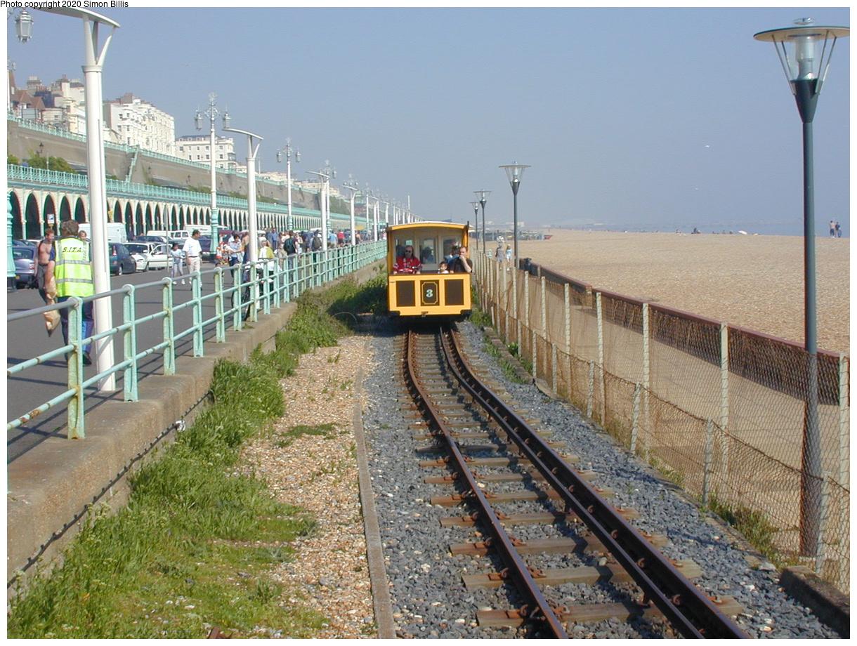 (93k, 800x600)<br><b>Country:</b> United Kingdom<br><b>City:</b> Brighton, Sussex<br><b>System:</b> Volks Electric Railway <br><b>Photo by:</b> Simon Billis<br><b>Date:</b> 2001<br><b>Viewed (this week/total):</b> 1 / 1825