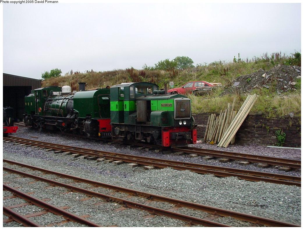 (222k, 1044x788)<br><b>Country:</b> United Kingdom<br><b>System:</b> Welsh Highland Railway <br><b>Photo by:</b> David Pirmann<br><b>Date:</b> 9/7/2000<br><b>Viewed (this week/total):</b> 4 / 1960