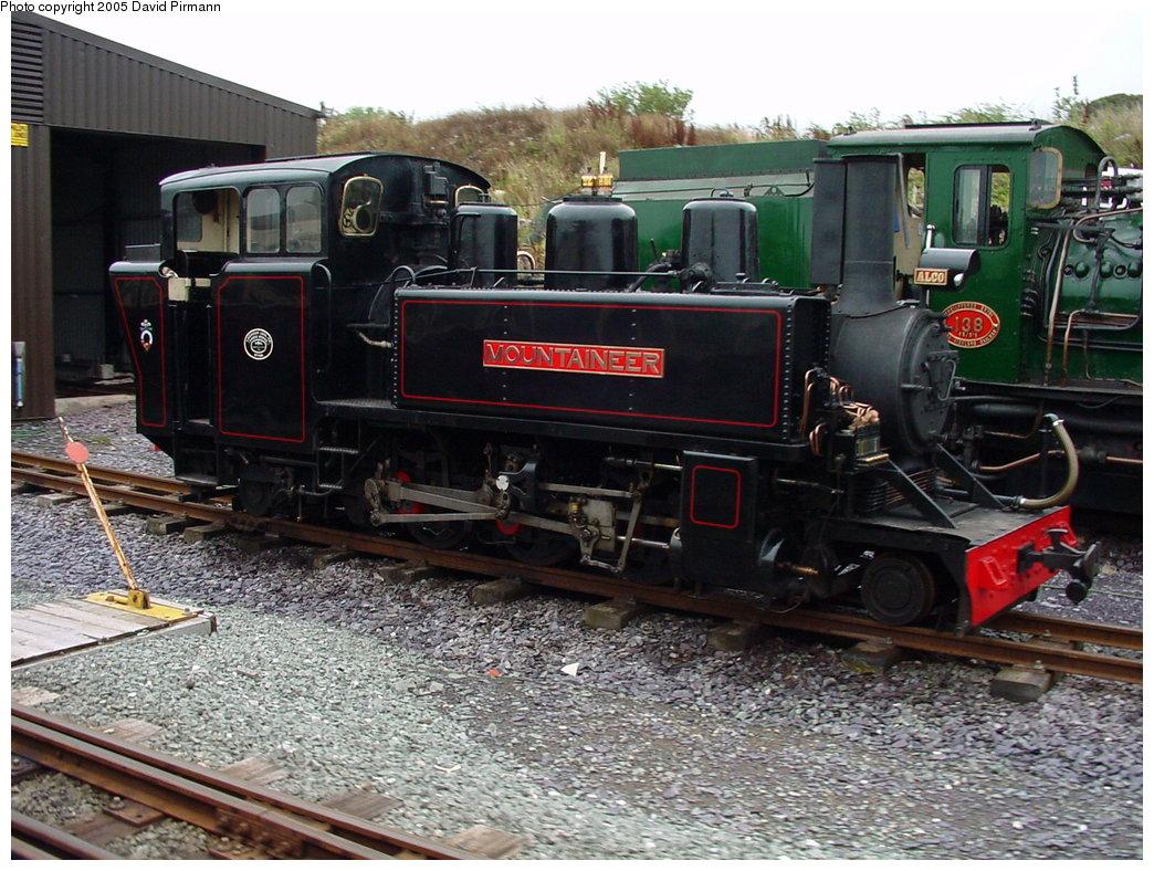 (223k, 1044x788)<br><b>Country:</b> United Kingdom<br><b>System:</b> Welsh Highland Railway <br><b>Photo by:</b> David Pirmann<br><b>Date:</b> 9/7/2000<br><b>Viewed (this week/total):</b> 0 / 1855