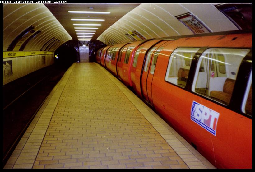 (65k, 820x553)<br><b>Country:</b> United Kingdom<br><b>City:</b> Glasgow<br><b>System:</b> Strathclyde Passenger Transport (SPT) or predecessor<br><b>Location:</b> Shields Road <br><b>Photo by:</b> Tristan Zieley<br><b>Viewed (this week/total):</b> 1 / 5001