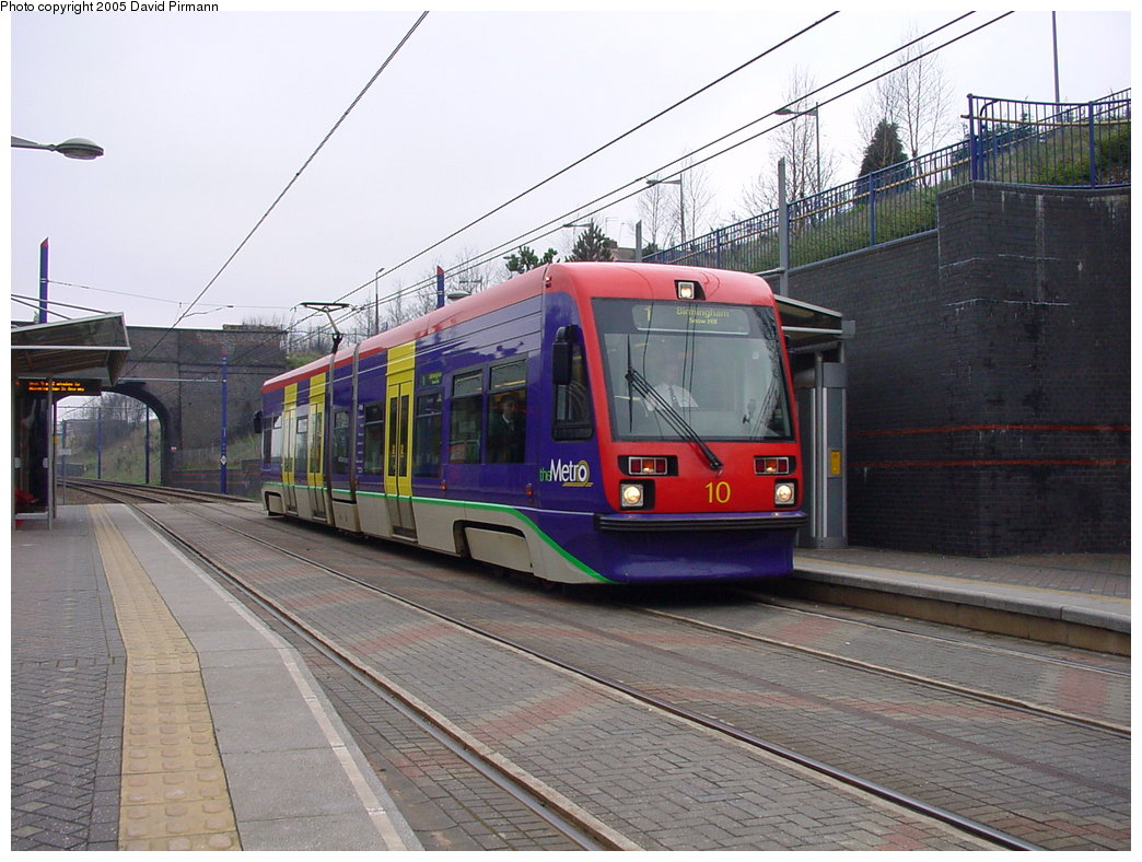 (186k, 1044x788)<br><b>Country:</b> United Kingdom<br><b>City:</b> Birmingham <br><b>System:</b> Midland Metro<br><b>Location:</b> The Hawthorns <br><b>Car:</b>  10 <br><b>Photo by:</b> David Pirmann<br><b>Date:</b> 3/29/2001<br><b>Viewed (this week/total):</b> 1 / 1324