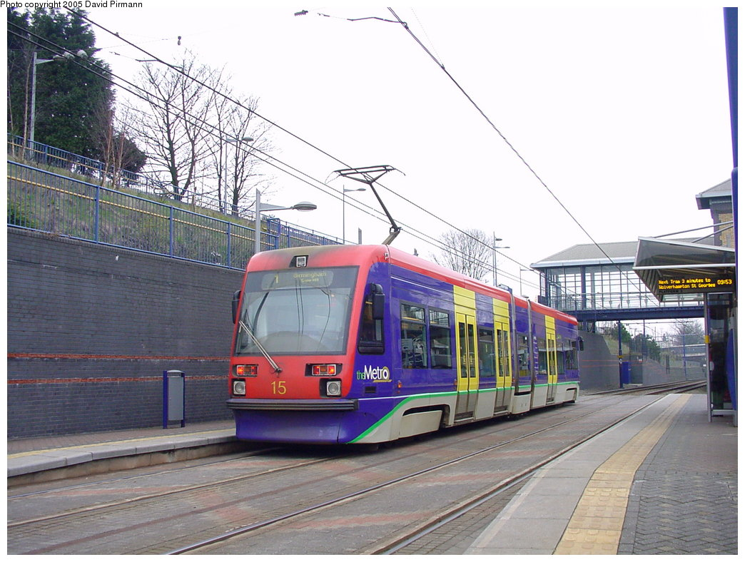 (194k, 1044x788)<br><b>Country:</b> United Kingdom<br><b>City:</b> Birmingham <br><b>System:</b> Midland Metro<br><b>Location:</b> The Hawthorns <br><b>Car:</b>  15 <br><b>Photo by:</b> David Pirmann<br><b>Date:</b> 3/29/2001<br><b>Viewed (this week/total):</b> 1 / 1697