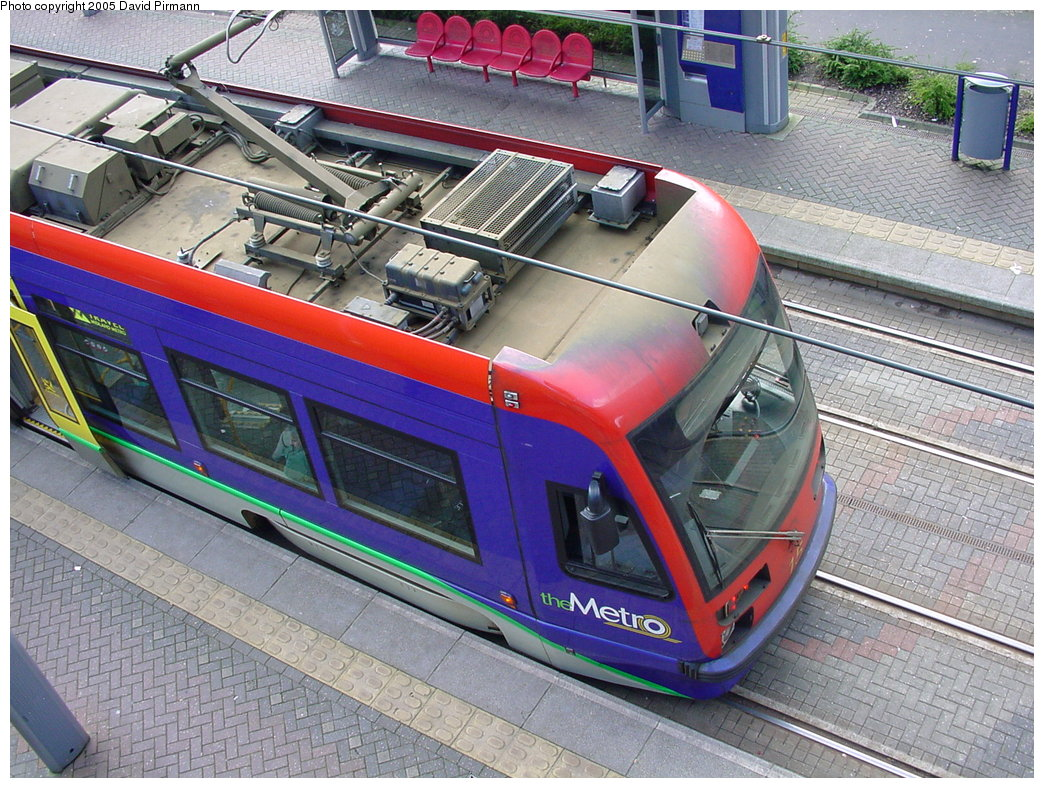(250k, 1044x788)<br><b>Country:</b> United Kingdom<br><b>City:</b> Birmingham <br><b>System:</b> Midland Metro<br><b>Location:</b> Lodge Road/West Bromwich Town Hall <br><b>Car:</b>  15 <br><b>Photo by:</b> David Pirmann<br><b>Date:</b> 3/29/2001<br><b>Viewed (this week/total):</b> 0 / 1917