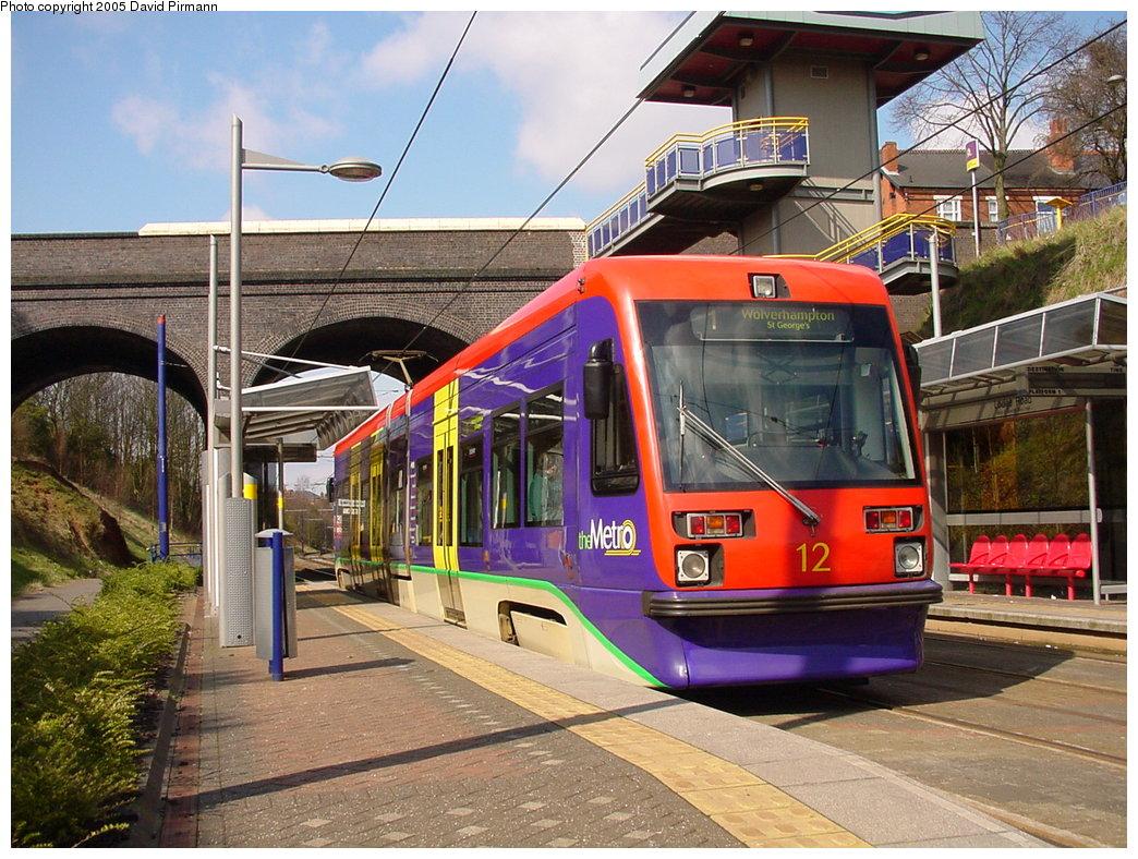 (235k, 1044x788)<br><b>Country:</b> United Kingdom<br><b>City:</b> Birmingham <br><b>System:</b> Midland Metro<br><b>Location:</b> Lodge Road/West Bromwich Town Hall <br><b>Car:</b>  12 <br><b>Photo by:</b> David Pirmann<br><b>Date:</b> 3/29/2001<br><b>Viewed (this week/total):</b> 0 / 2023