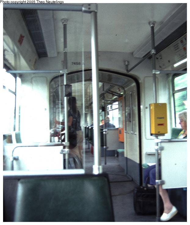 (80k, 622x734)<br><b>Country:</b> Germany<br><b>City:</b> Bonn<br><b>System:</b> SWB (Stadtwerke Bonn)<br><b>Route:</b> 16<br><b>Car:</b> Bonn Tram 7458 <br><b>Photo by:</b> Theo Neutelings<br><b>Date:</b> 5/14/2001<br><b>Viewed (this week/total):</b> 0 / 1613