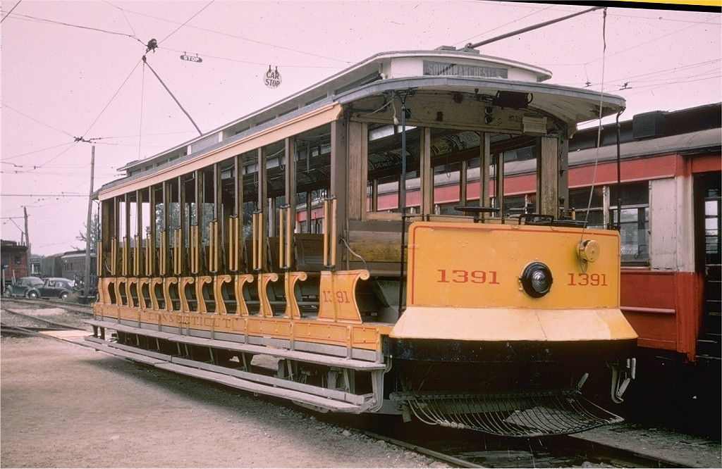 (193k, 1024x666)<br><b>Country:</b> United States<br><b>City:</b> Kennebunk, ME<br><b>System:</b> Seashore Trolley Museum <br><b>Car:</b> Connecticut Company 1391 <br><b>Photo by:</b> Joe Testagrose<br><b>Date:</b> 7/14/1968<br><b>Viewed (this week/total):</b> 0 / 1637