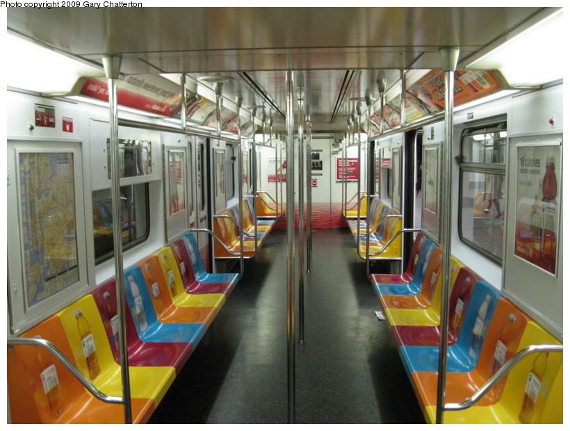 (147k, 820x620)<br><b>Country:</b> United States<br><b>City:</b> New York<br><b>System:</b> New York City Transit<br><b>Route:</b> S<br><b>Car:</b> R-62A (Bombardier, 1984-1987)  1956 <br><b>Photo by:</b> Gary Chatterton<br><b>Date:</b> 4/15/2009<br><b>Viewed (this week/total):</b> 1 / 1610