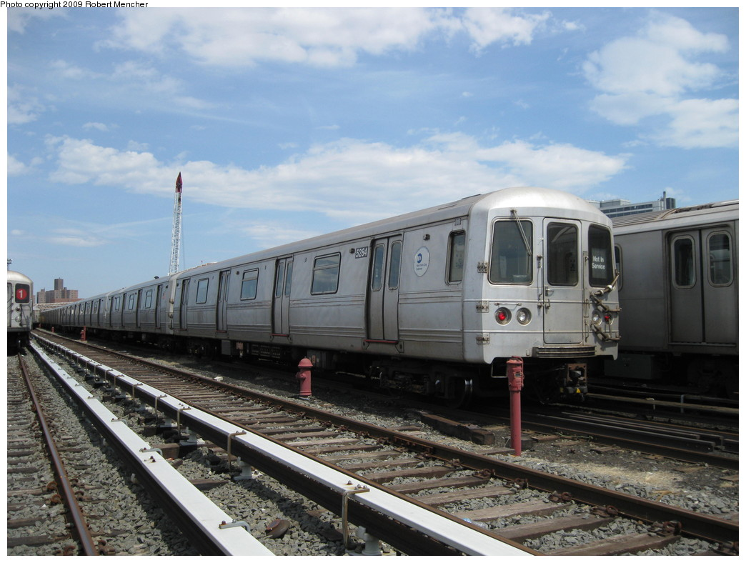 (215k, 1044x788)<br><b>Country:</b> United States<br><b>City:</b> New York<br><b>System:</b> New York City Transit<br><b>Location:</b> 207th Street Yard<br><b>Car:</b> R-44 (St. Louis, 1971-73) 5284 <br><b>Photo by:</b> Robert Mencher<br><b>Date:</b> 4/18/2009<br><b>Viewed (this week/total):</b> 1 / 737