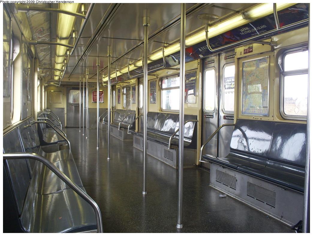(298k, 1044x788)<br><b>Country:</b> United States<br><b>City:</b> New York<br><b>System:</b> New York City Transit<br><b>Route:</b> A<br><b>Car:</b> R-32 (Budd, 1964)  3841 <br><b>Photo by:</b> Christopher Henderson<br><b>Date:</b> 5/6/2009<br><b>Viewed (this week/total):</b> 0 / 1056